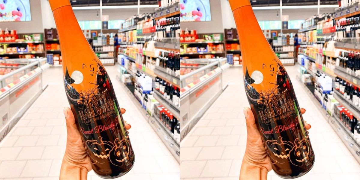 """Aldi Is Selling """"Sweet Bloody Red Wine"""" For $8 This Halloween"""