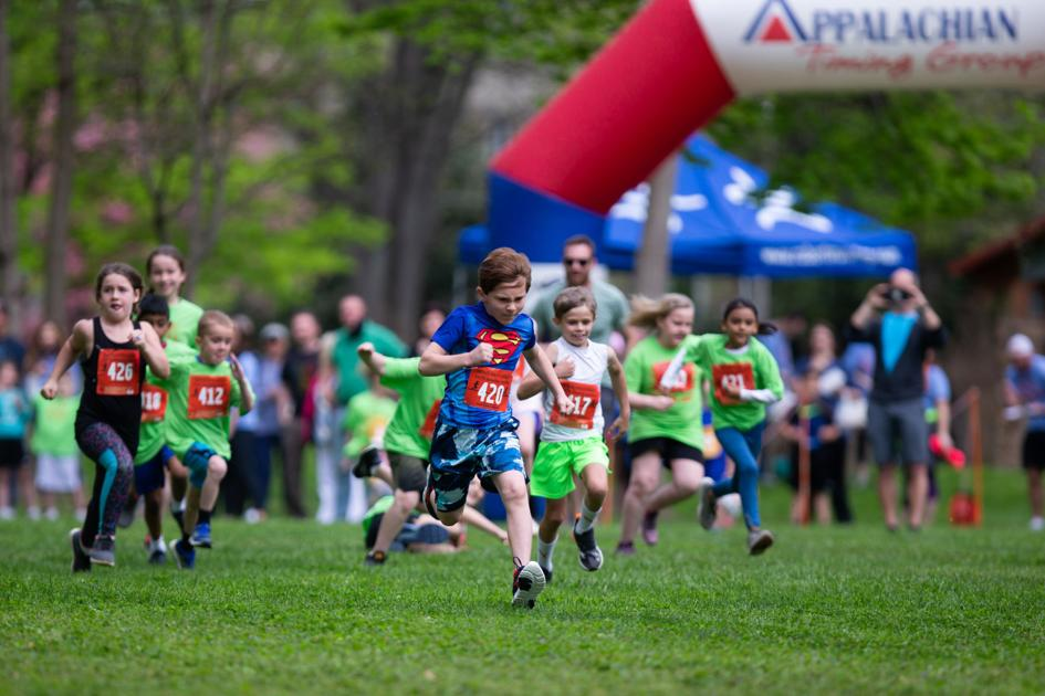Move Movement encourages kids to run