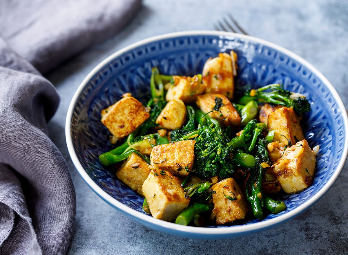 Secret Effects of Eating Tofu, Says Science