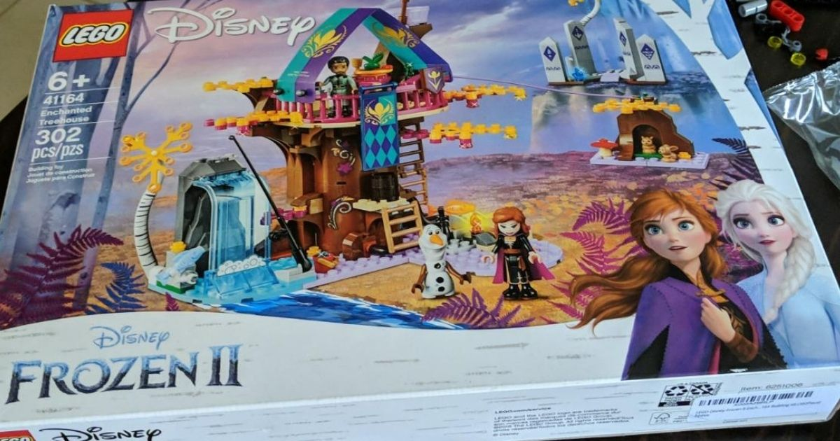 LEGO Disney Frozen Enchanted Treehouse Set Only $29.99 (Regularly $50)