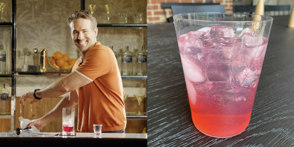 """We Made Ryan Reynolds' \""""Vasectomy\"""" Cocktail And It's Actually *So* Good"""