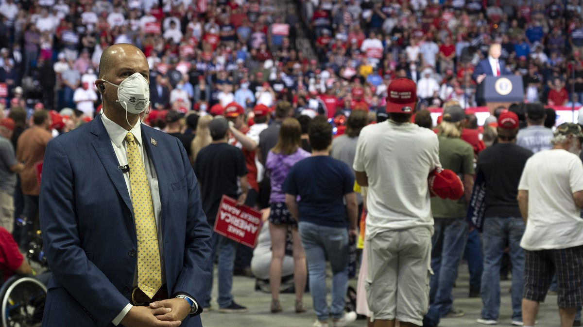 Trump Rallies Linked to More Than 30,000 COVID Cases and 700 Deaths: Study