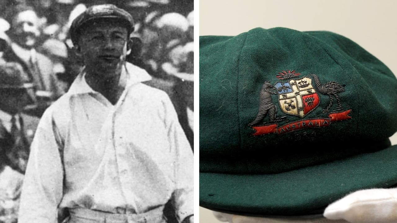 Sir Don Bradman's baggy green to be auctioned after being embroiled in $1.3 million fraud