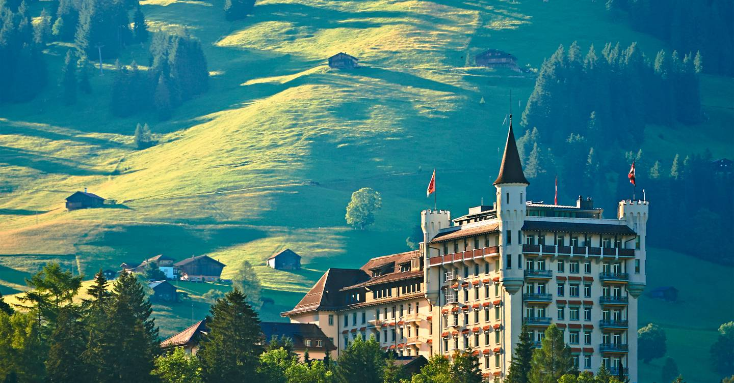 Win a summer weekend at Gstaad Palace in Switzerland