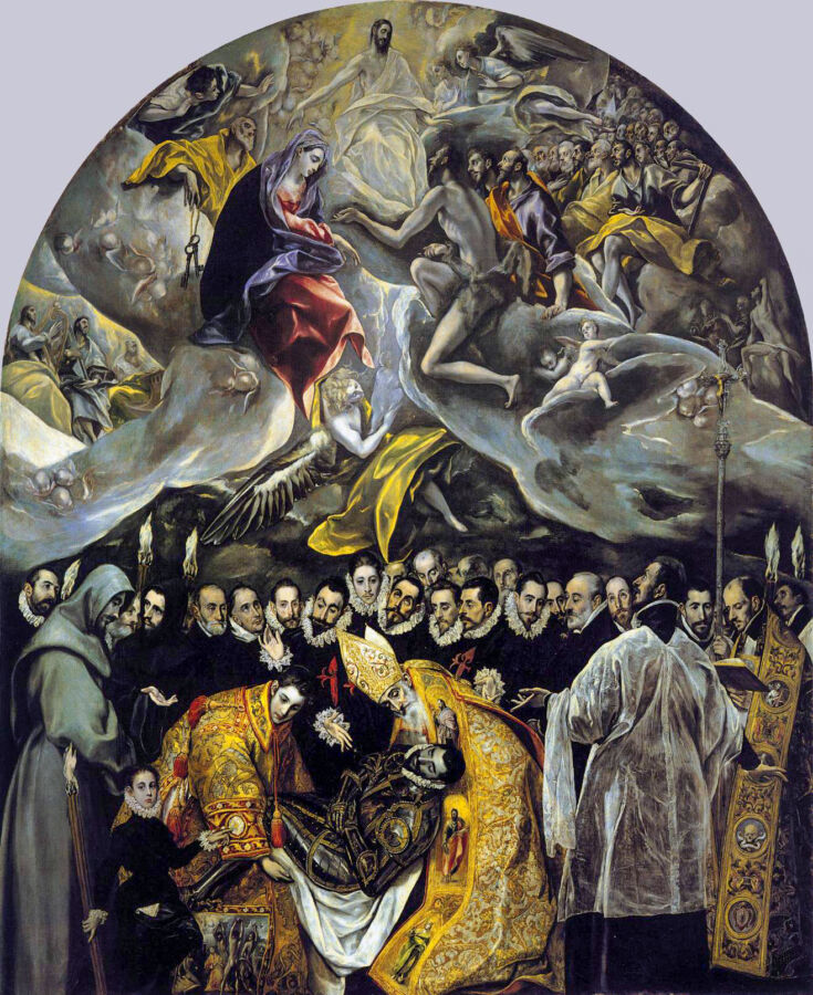 "Daily Dose of Europe: El Greco's ""Burial of Count Orgaz"""