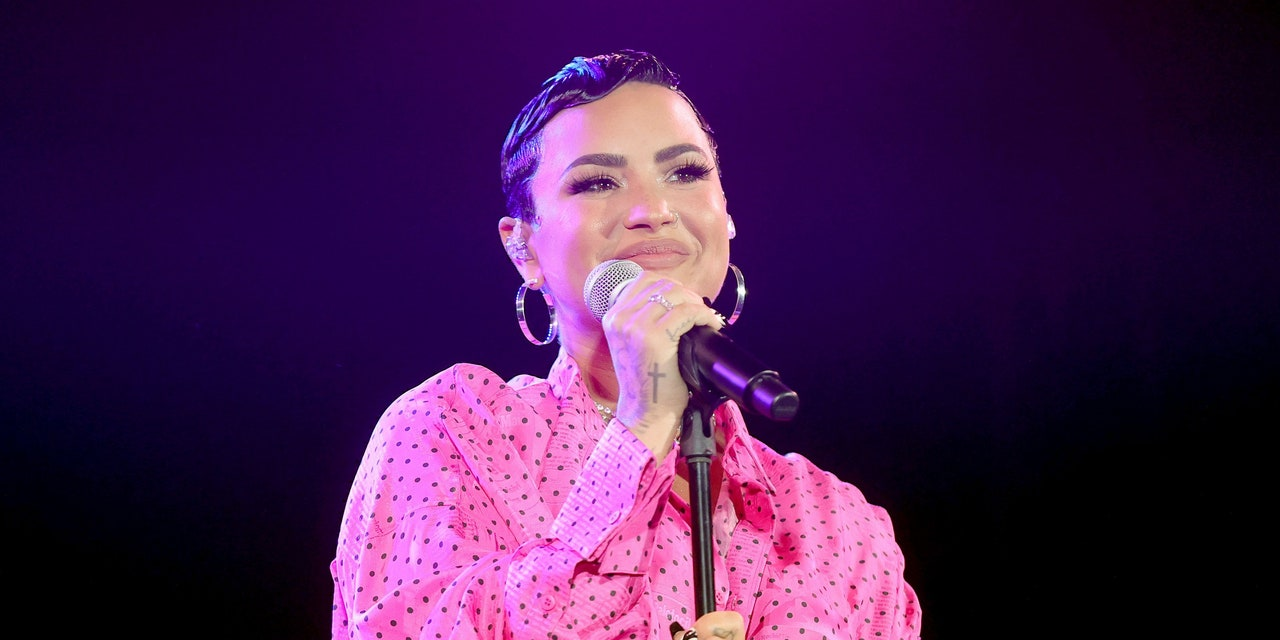 Demi Lovato Reminds Their Followers That Complimenting Someone's Weight Loss 'Can be Harmful'