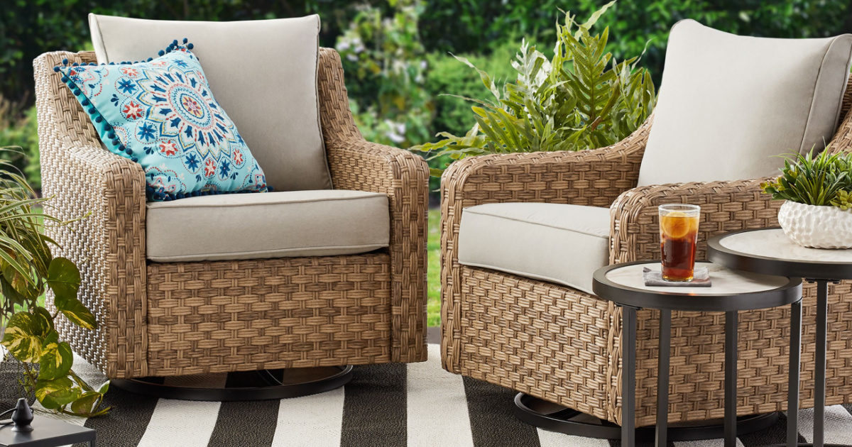 This Highly Rated Walmart Patio Furniture is $5K Less Than Pottery Barn