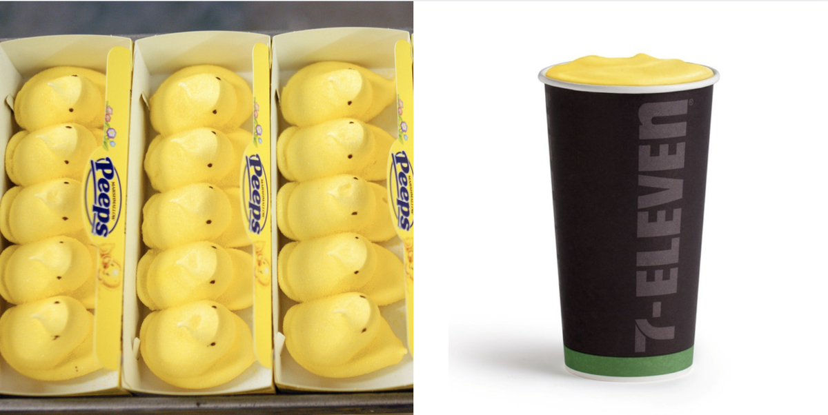 7-Eleven Is Selling Peeps Lattes For Easter