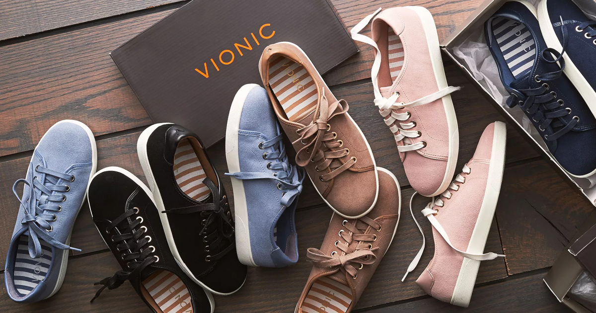 Vionic Women's Sneakers Only $19.99 on Zulily (Regularly $140)