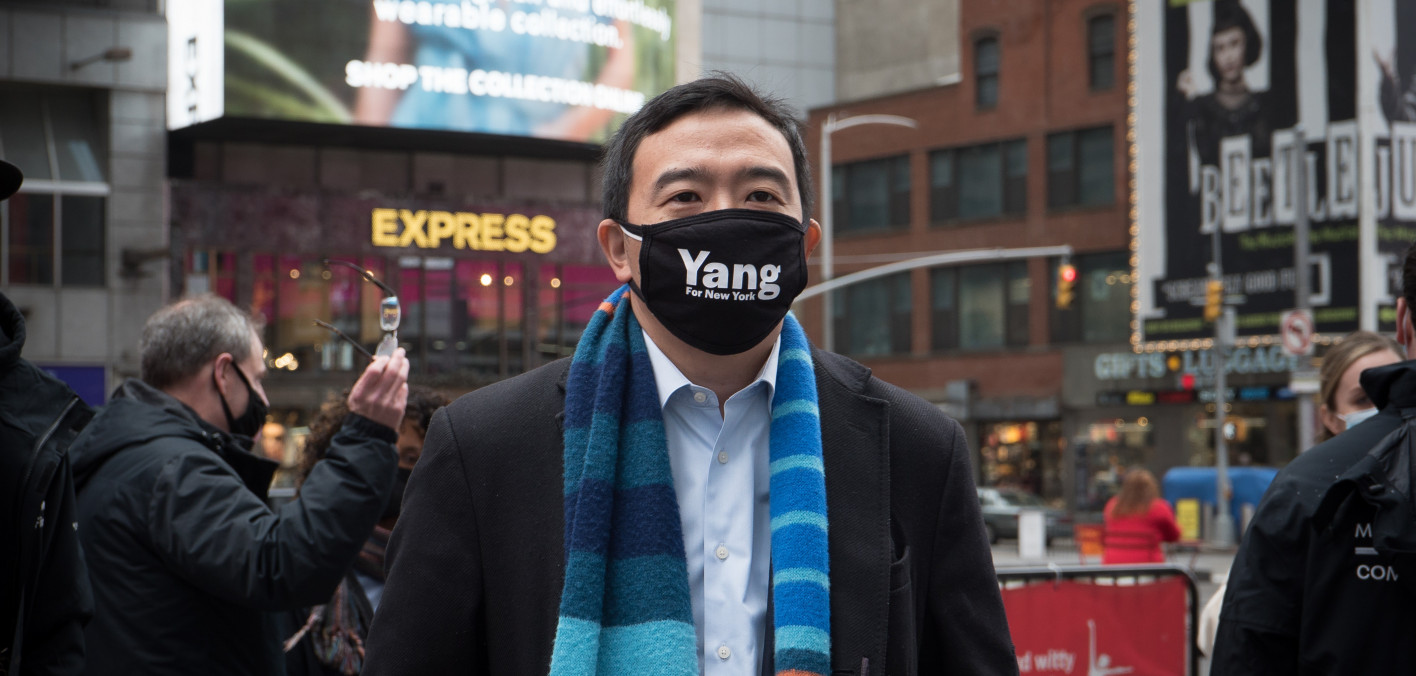 Andrew Yang Accused of Being Insensitive to People With Mental Illness