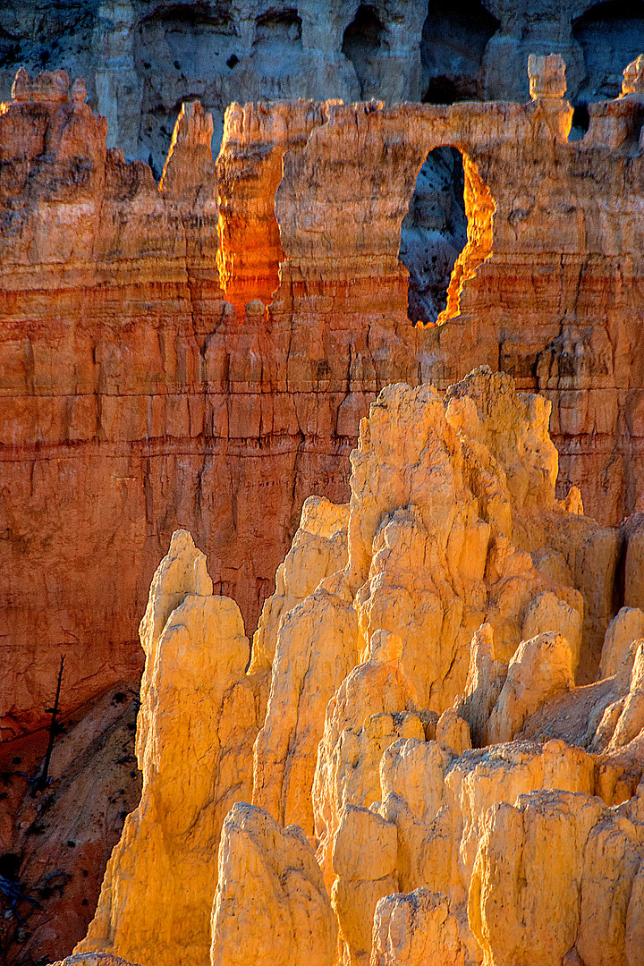 Inspiration Point, Bryce Canyon, Utah, USA by Roy Goldsberry