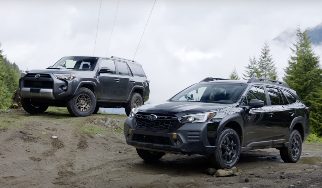 Wanna See a Subaru Outback 'Wilderness' Trade Mud With a 4Runner?