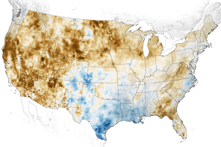 Western Soils and Plants are Parched