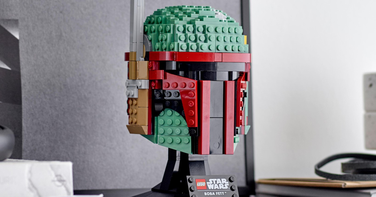 Collectible LEGO Star Wars Boba Fett Helmet Only $52.49 Shipped on Amazon
