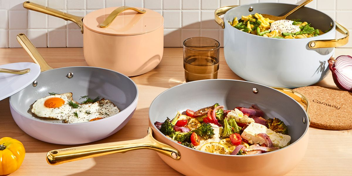 Your Cookware Will Get A Pastel Touch With Caraway's New Full Bloom Collection