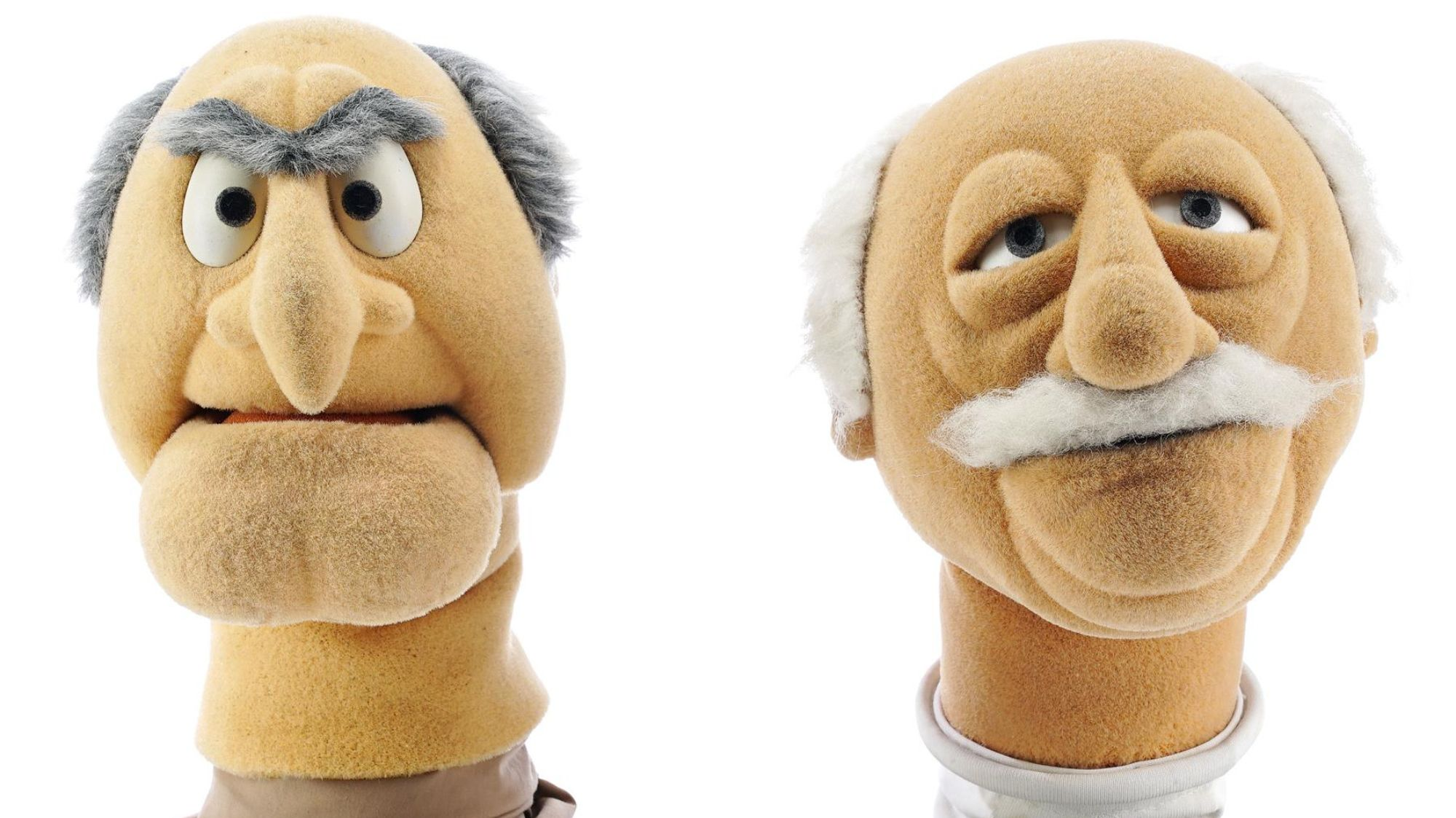 Balcony Bid: You Can Buy the Original Heads of Muppet Grumps Statler and Waldorf