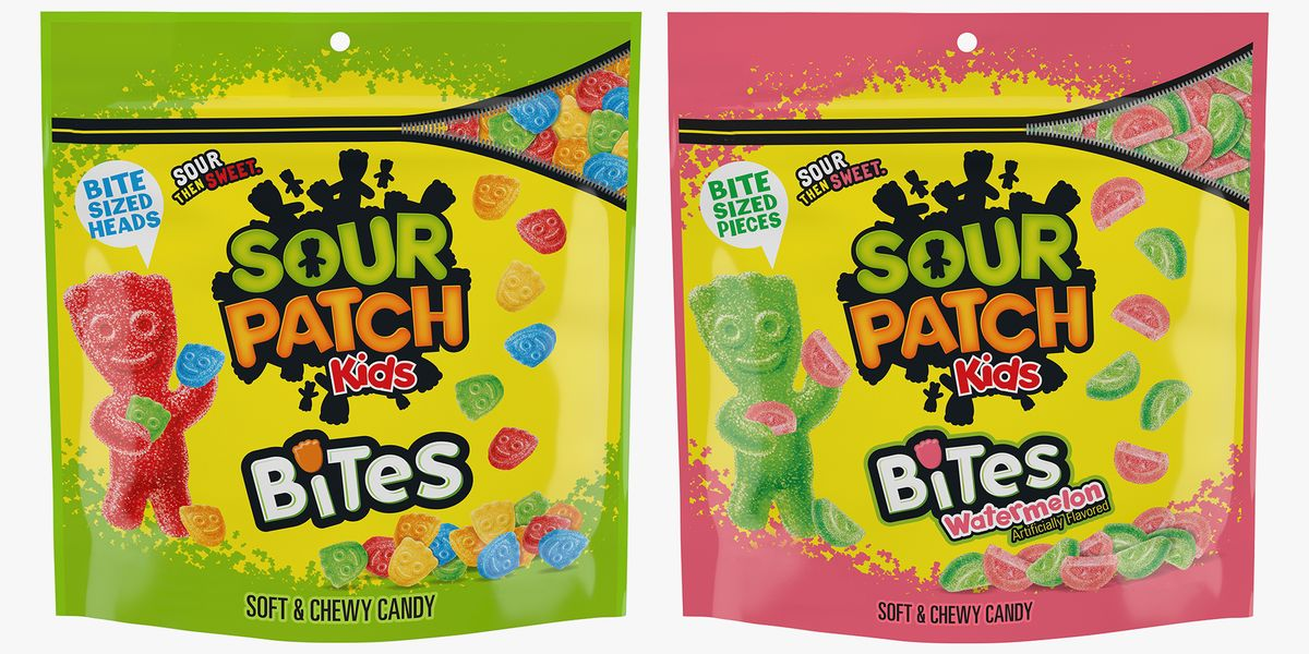 The New Sour Patch Kids Bites Give You Sour-Then-Sweet Candy In Mini Heads