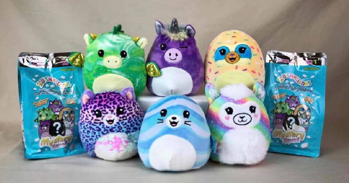 Squishmallows Scented Mystery Bags Available at Kroger