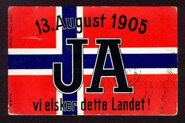 Dissolution of the union between Norway and Sweden