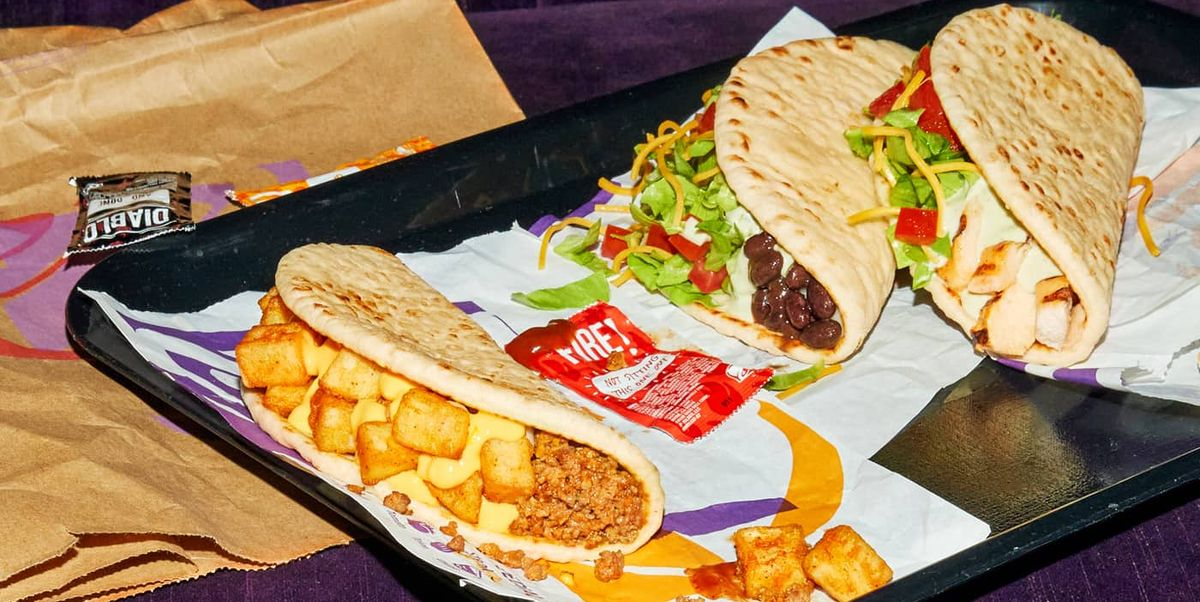 Taco Bell Has New Flatbread Tacos For $1
