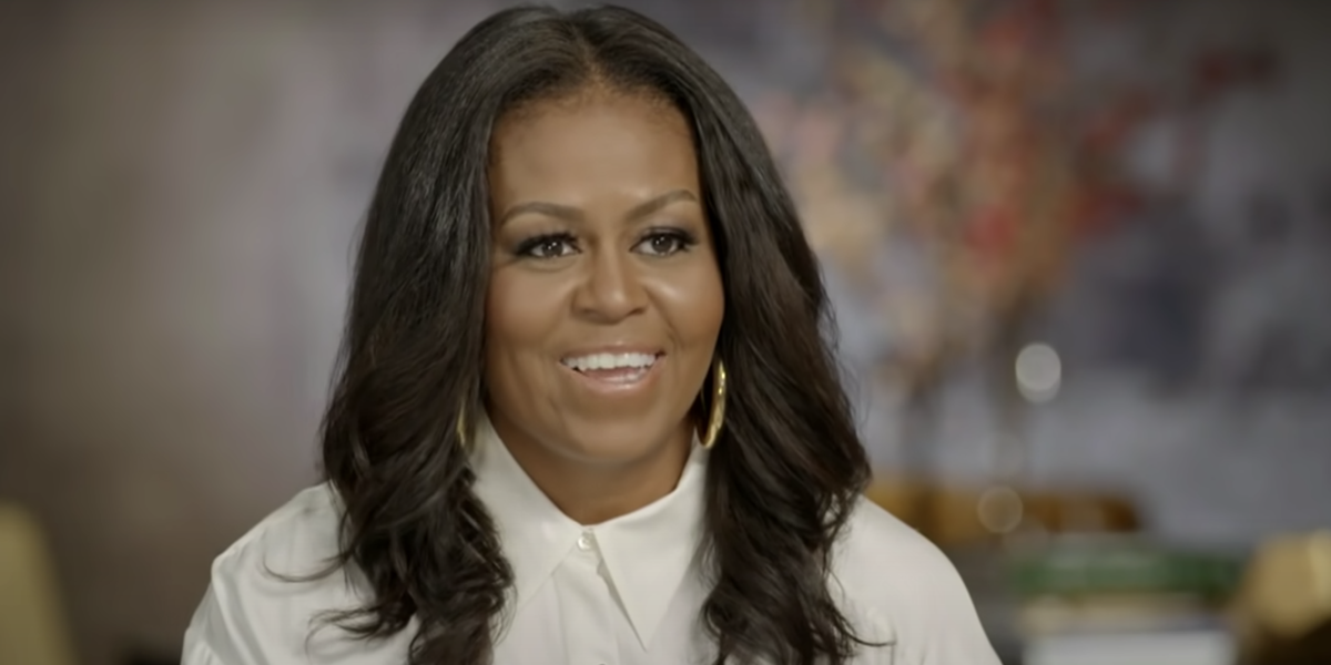 Michelle Obama Said That Chocolate Is Better Than Vanilla On 'The Late Show'