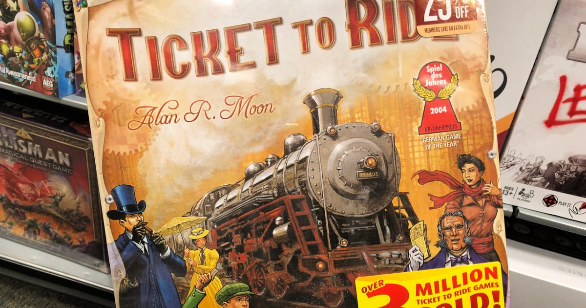 Ticket to Ride Board Game Just $32 Shipped on Amazon (Regularly $55)