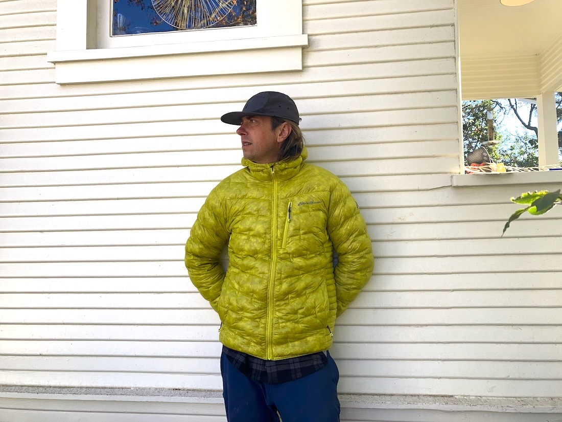 Eddie Bauer's 1000 Fill Jacket Gives MH's Ghost Whisperer Run For Its Money