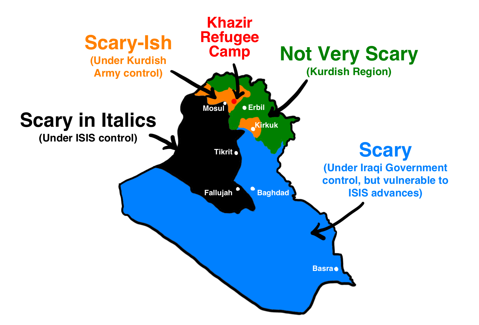 From Muhammad to ISIS: Iraq's Full Story — Wait But Why