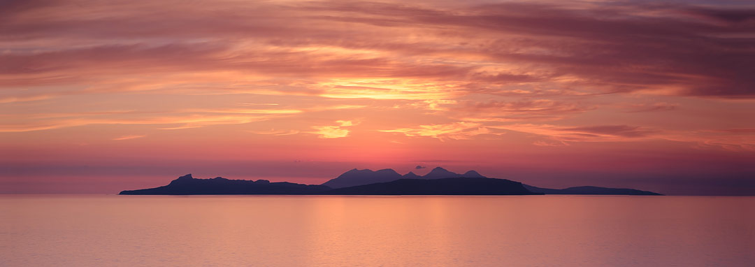 Isles of Eigg and Rum, Scotland by Steven Marshall