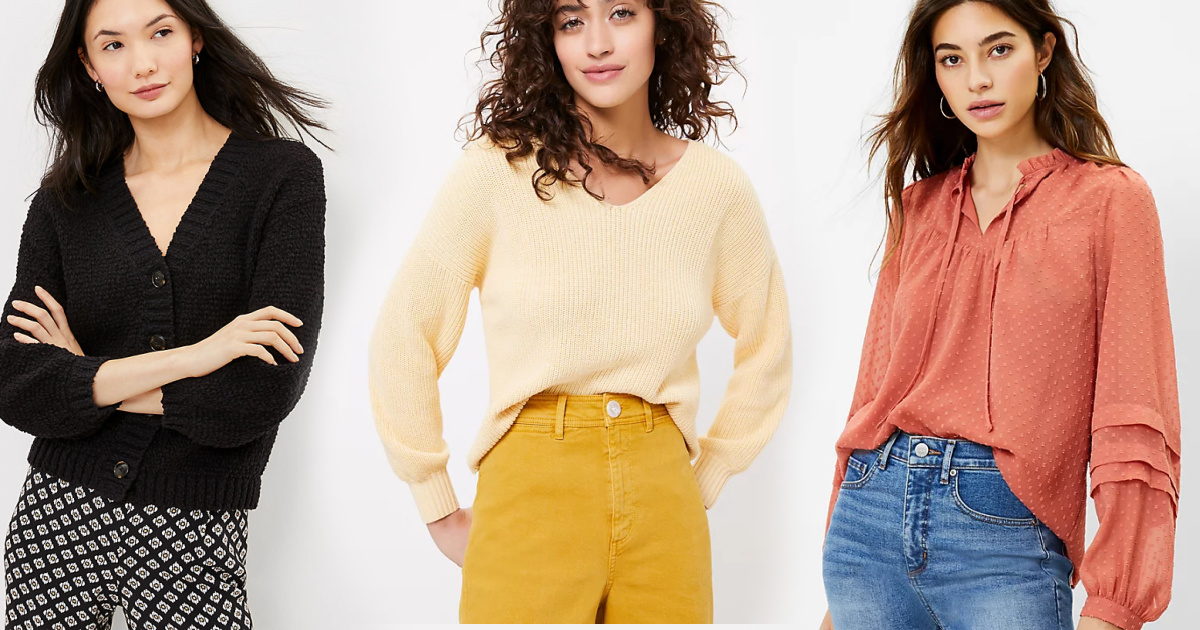 LOFT Women's Sweaters from $6, Pants from $7.95 & More + Free Shipping
