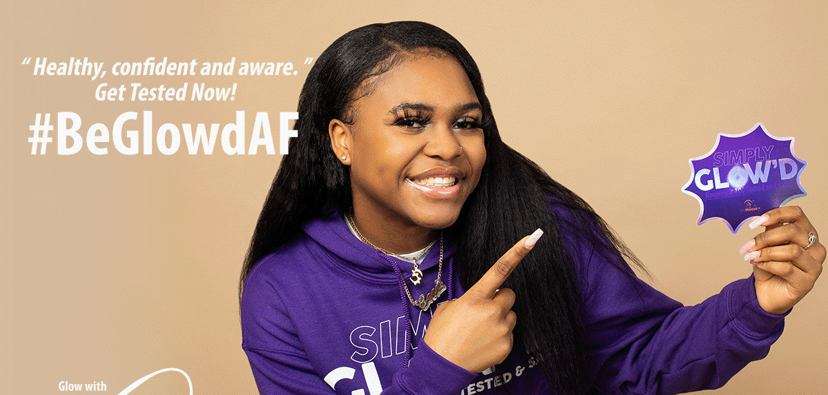 #BeGlowdAF: Young People Encourage Peers to Get Tested for HIV and Hepatitis C