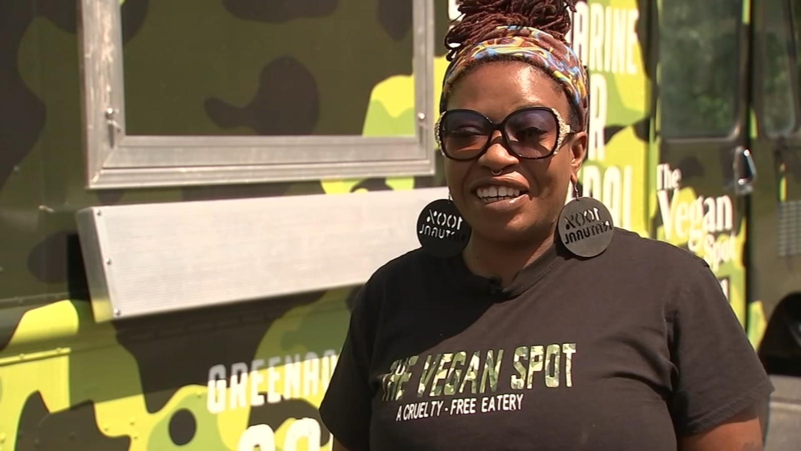 Fayetteville vegan food truck owner hopes to expand healthy eating choices for area