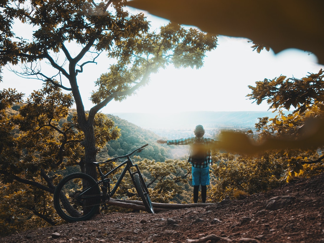 Pedaling Away from Anxiety—Cycling and Mental Health