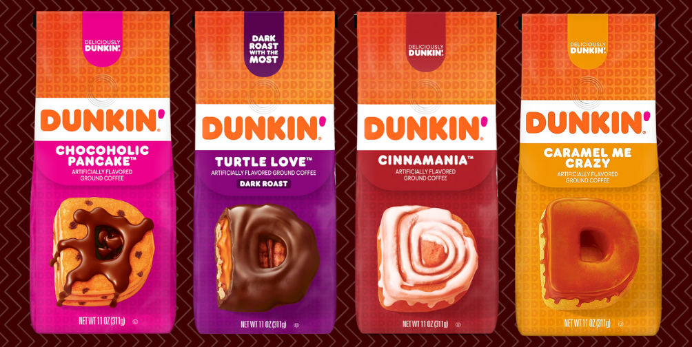 Dunkin' Has 4 New At-Home Coffee Flavors