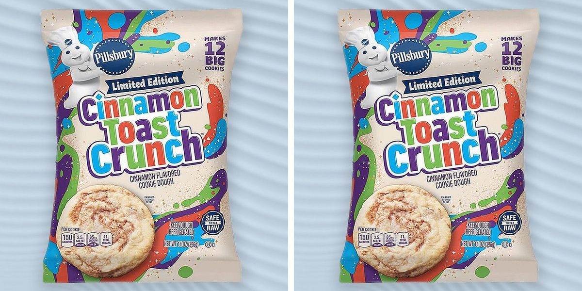 Pillsbury's New Cinnamon Toast Crunch Cookie Dough Will Be The Only Treat You Want