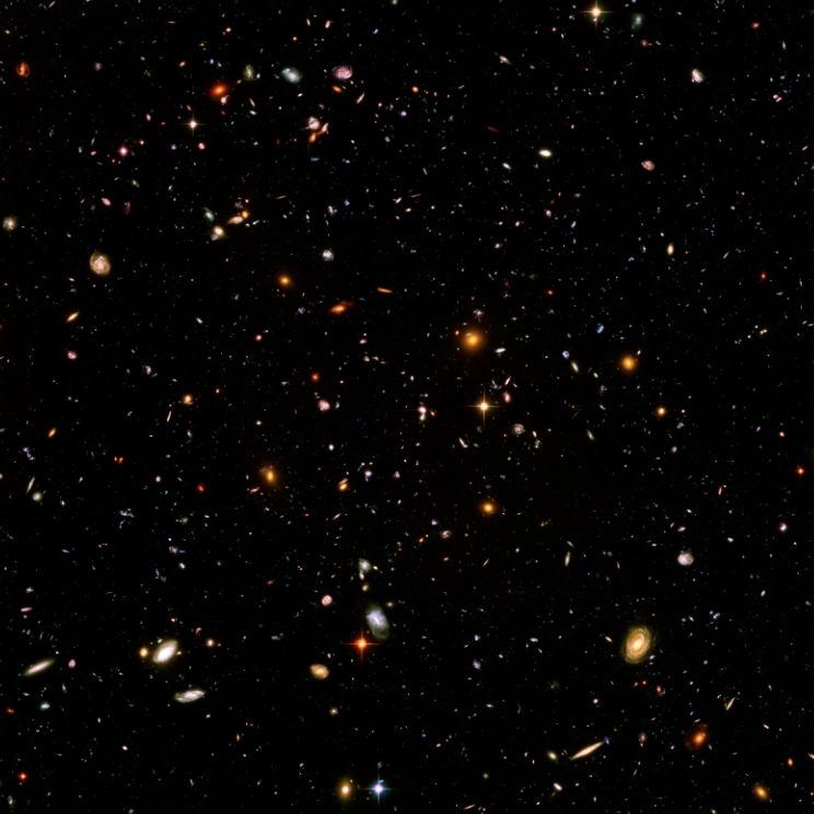 The Deepest View of the Universe. EVER.