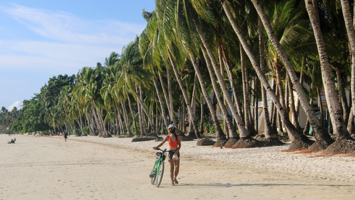 World-Renowned Island in Philippines Reopens to Tourists Despite Case Surge