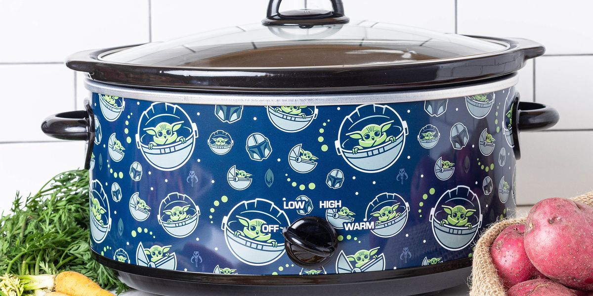 You Can Get a 'Star Wars' Baby Yoda Slow Cooker