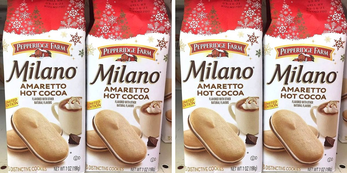 Milano Has A New Amaretto Hot Cocoa Flavor That Will Be Your Cookie Of Choice This Season