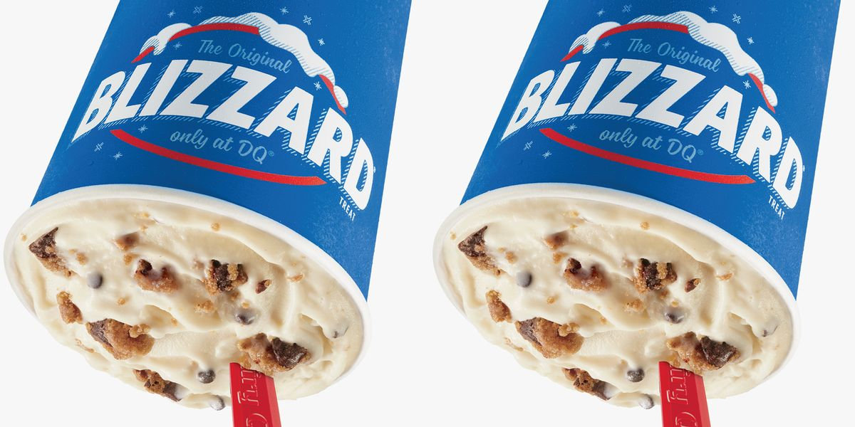 Dairy Queen's New Blizzard Is Made With Nestlé Toll House Soft-Baked Cookies