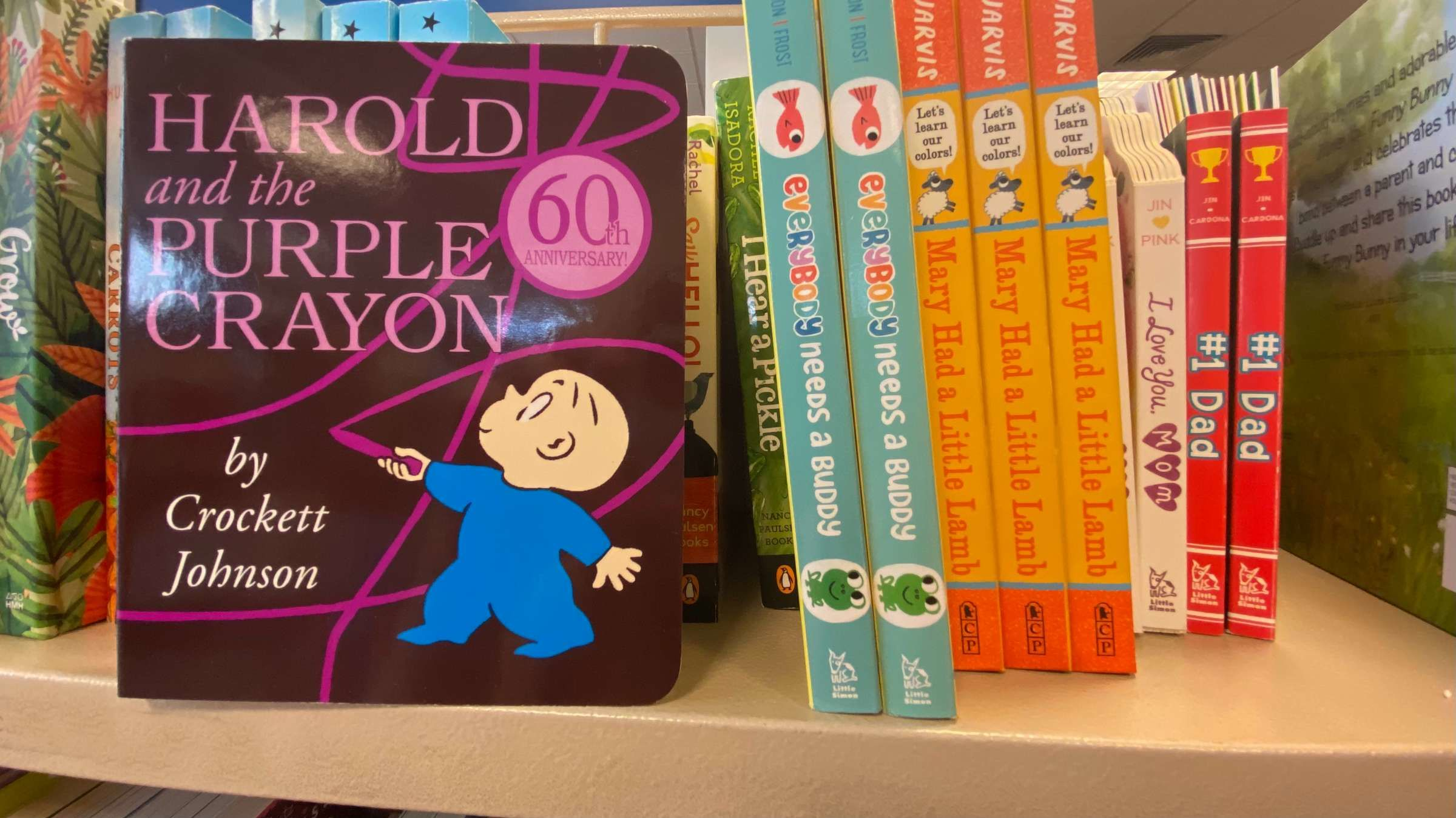 7 Facts About 'Harold and the Purple Crayon'