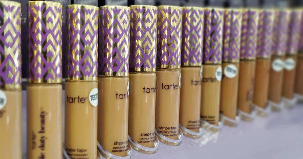 Up to 65% Off Tarte Cosmetics + 3 Free Samples w/ Every Order