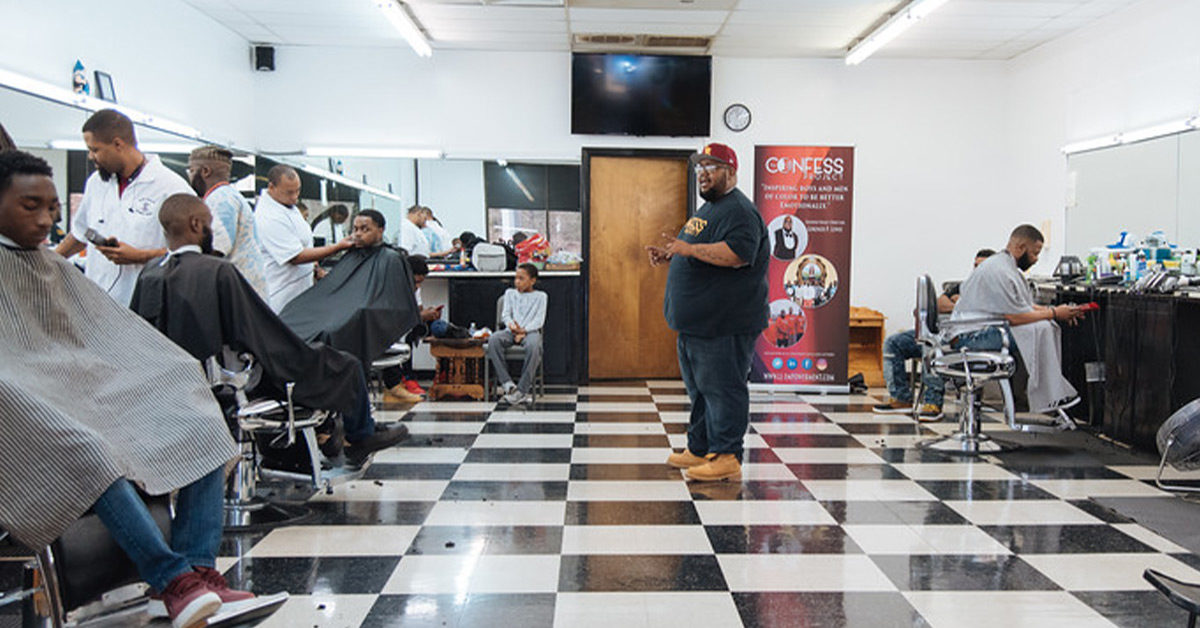 How Barbers Are Stepping Up for Black Men and Mental Health