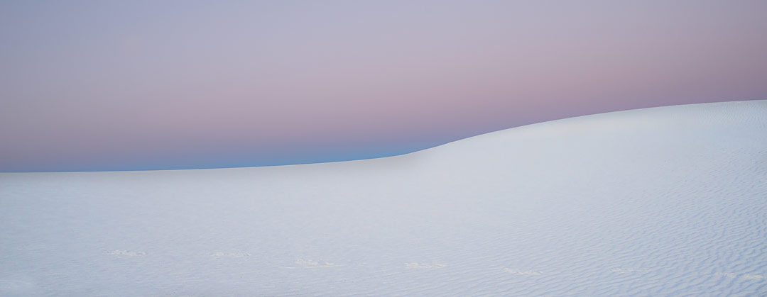 White Sands, New Mexico, USA by J Fritz Rumpf