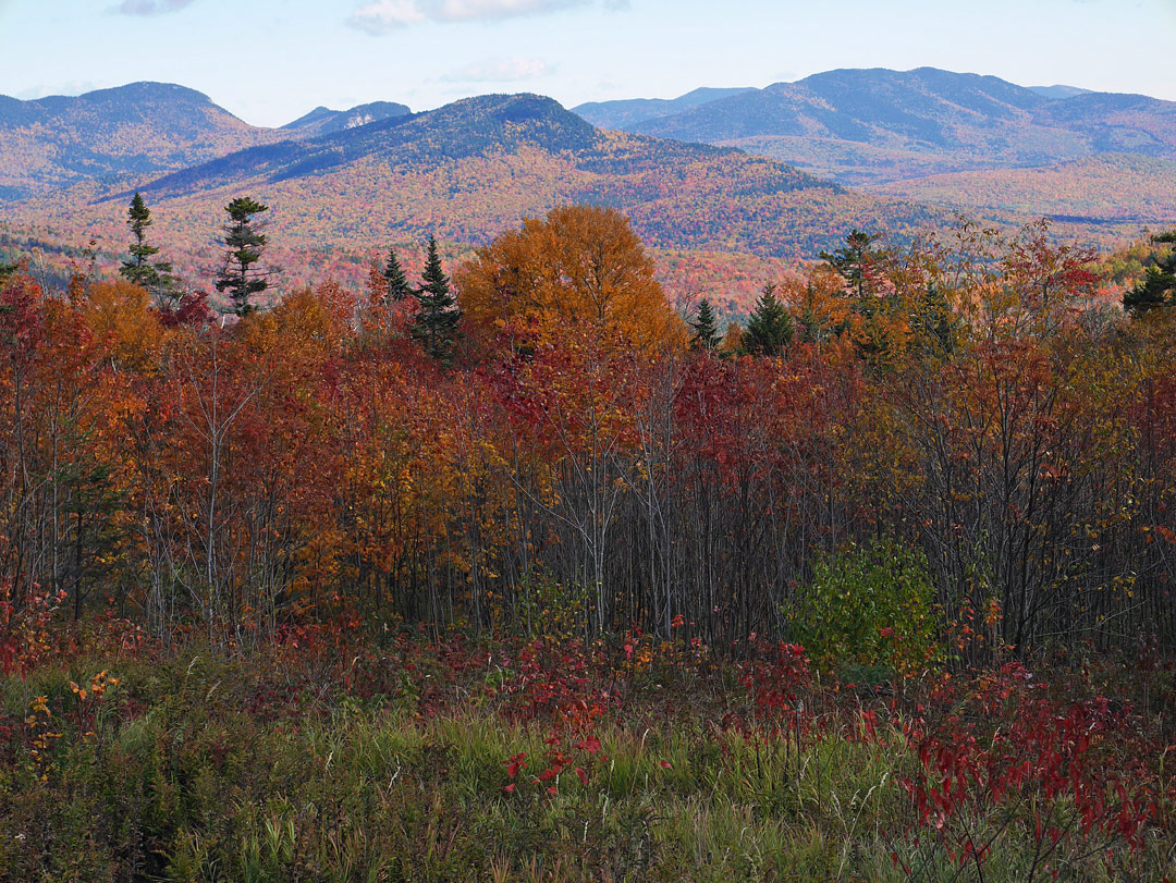 White Mountains, Conway, New Hampshire, USA by John Brooks