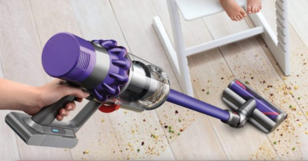 Refurbished Dyson V10 Cordless Stick/ Handheld Vacuum Just $269.99 Shipped for Amazon Prime Members