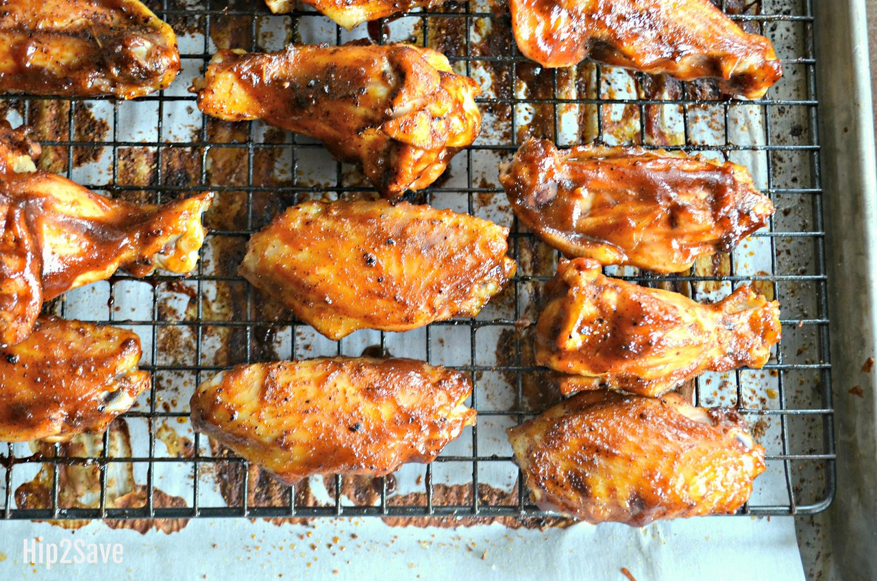 Best Ever Oven-Baked Honey BBQ Chicken Wings