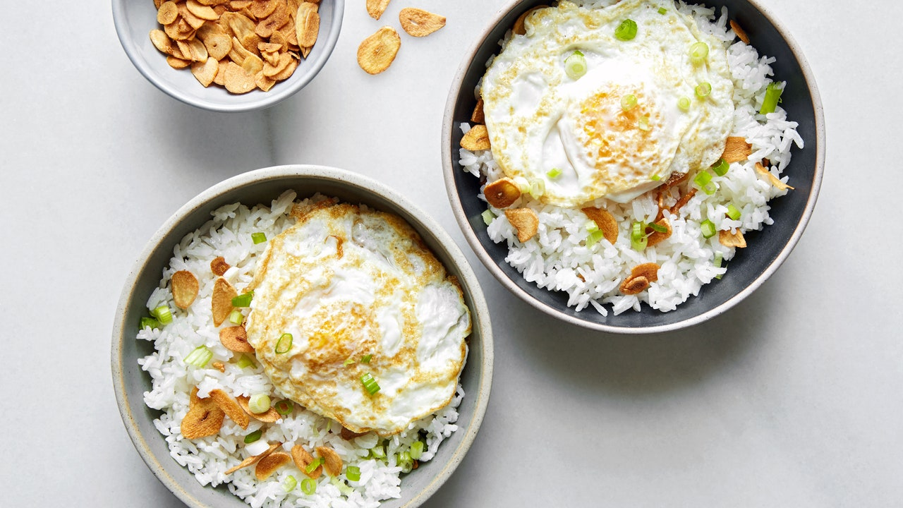 A Garlicky Fried Rice Dinner You Can Make Ahead (or Make Right Now)