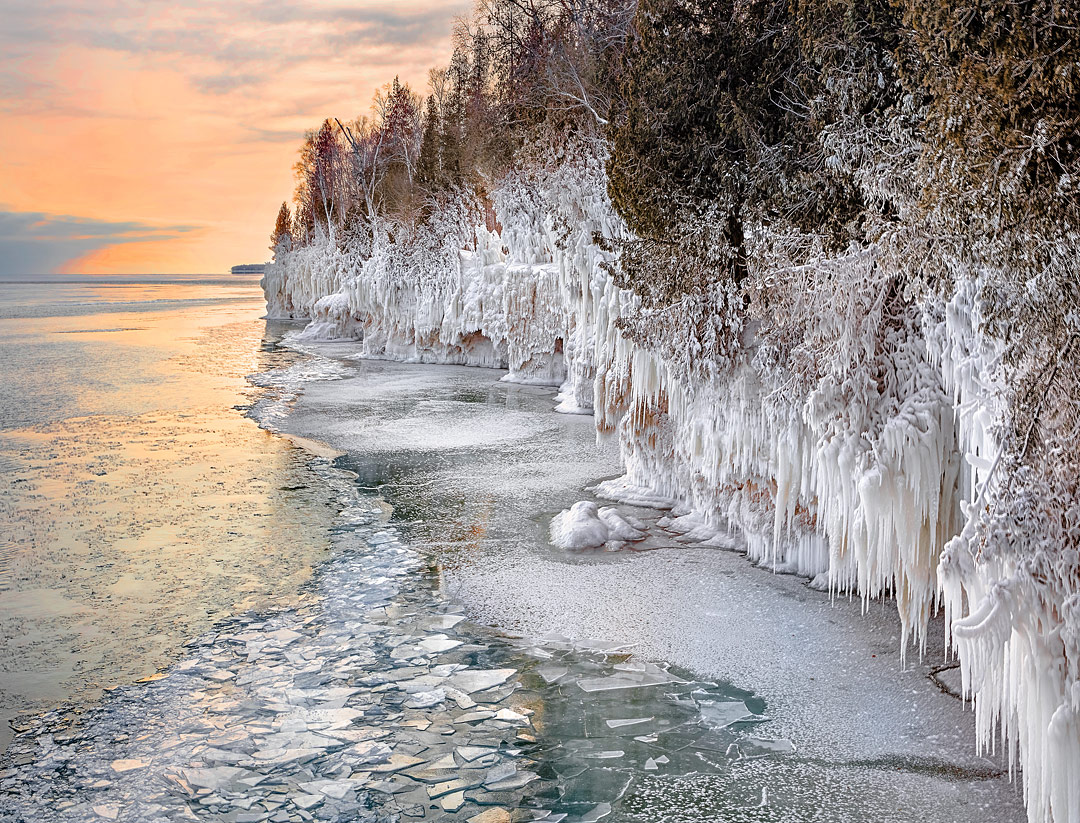 Cave Point, Door County, WI, USA by Daniel Anderson