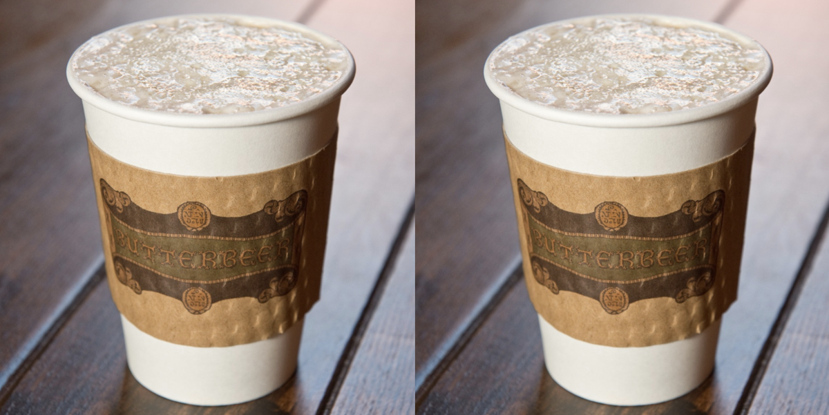 Universal Is Offering Hot Butterbeer All Year Now